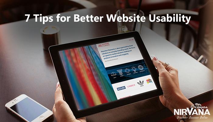 Better Website Usability