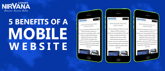 Benefits of a Mobile Website
