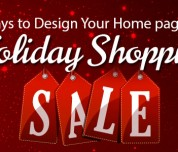 Homepage for Holiday Shopping